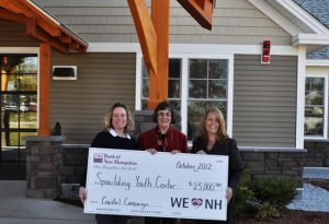 Bank of New Hampshire donates $25,000 to support a new high performance school at Spaulding Youth Center