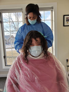 Hair Stylists Bring Services to Spaulding